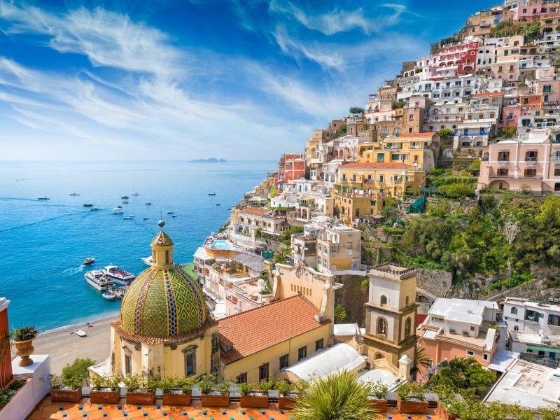 La Côte Amalfitaine au Volant - De Naples à Naples 4 *
